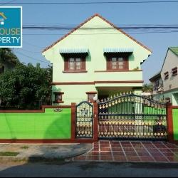 ขายด่วนบ้านเดี่ยว 84 ตรว. หมู่บ้านเมืองเอก บ้านพร้อมอยู่ ใกล้โลตัสบางปู