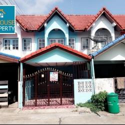 ขายทาวน์เฮ้าส์ หมู่บ้านเพชรงาม (แพรกษา) ต่อเติมแล้วบ้านสวยพร้อมอยู่ ราคาถูก