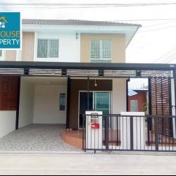หมู่บ้านพฤกษา 106 (บ้านหลังริม) บ้านใหม่ตกแต่งพร้อมอยู่ เจ้าของเสนอขายเอง