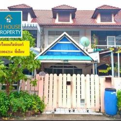ทาวน์เฮ้าส์บ้านพร้อม หมู่บ้านปัญญานครบางปู จังหวัดสมุทรปราการ