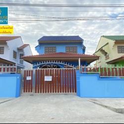 ขายบ้านเดี่ยวสองชั้นติดริมน้ำ หมู่บ้านเมืองเอกบางปู